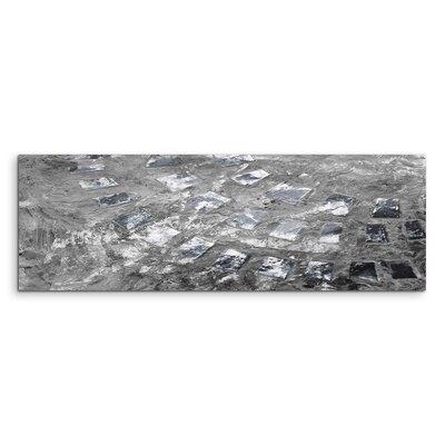 PaulSinusArt Enigma Panorama Abstrakt 804 Painting Print on Canvas