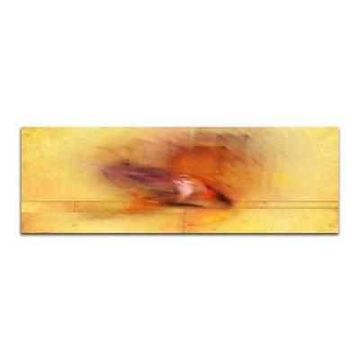 PaulSinusArt Enigma Panorama Abstrakt 138 Painting Print on Canvas