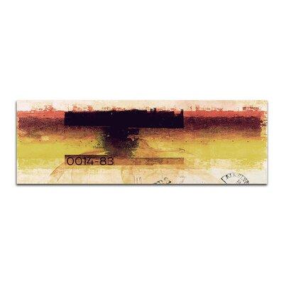 PaulSinusArt Enigma Panorama Abstrakt 140 Painting Print on Canvas