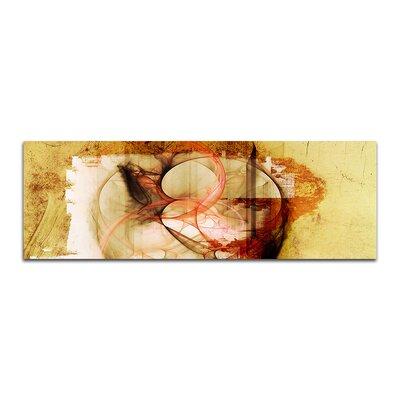 PaulSinusArt Enigma Panorama Abstrakt 336 Painting Print on Canvas