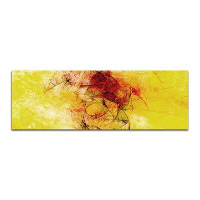 PaulSinusArt Enigma Panorama Abstrakt 238 Painting Print on Canvas