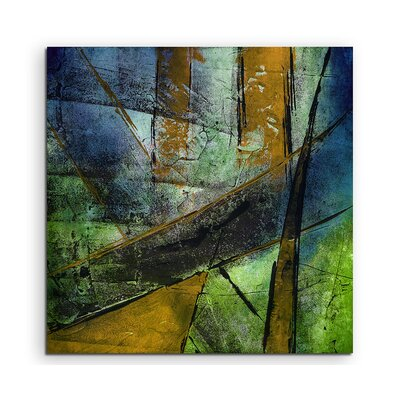 PaulSinusArt Enigma Abstrakt 979 Painting Print on Canvas