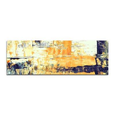 PaulSinusArt Enigma Panorama Abstrakt 001 Painting Print on Canvas