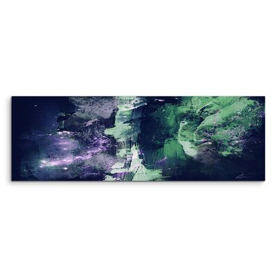 PaulSinusArt Enigma Panorama Abstrakt 807 Painting Print on Canvas