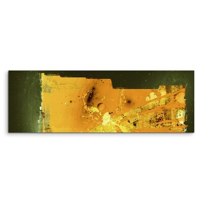 PaulSinusArt Enigma Panorama Abstrakt 808 Painting Print on Canvas