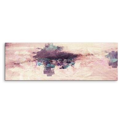PaulSinusArt Enigma Panorama Abstrakt 809 Painting Print on Canvas