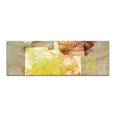 PaulSinusArt Enigma Panorama Abstrakt 339 Painting Print on Canvas