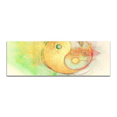 PaulSinusArt Enigma Panorama Abstrakt 340 Painting Print on Canvas