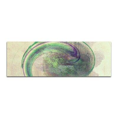 PaulSinusArt Enigma Panorama Abstrakt 347 Painting Print on Canvas