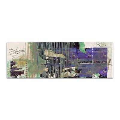 PaulSinusArt Enigma Panorama Abstrakt 176 Painting Print on Canvas