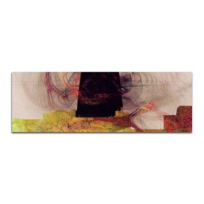 PaulSinusArt Enigma Panorama Abstrakt 179 Painting Print on Canvas