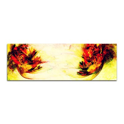 PaulSinusArt Enigma Panorama Abstrakt 239 Painting Print on Canvas