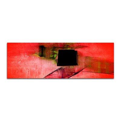 PaulSinusArt Enigma Panorama Abstrakt 242 Painting Print on Canvas