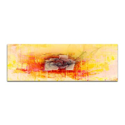 PaulSinusArt Enigma Panorama Abstrakt 245 Painting Print on Canvas