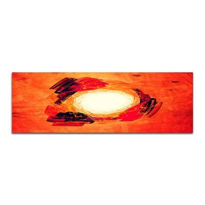 PaulSinusArt Enigma Panorama Abstrakt 075 Painting Print on Canvas
