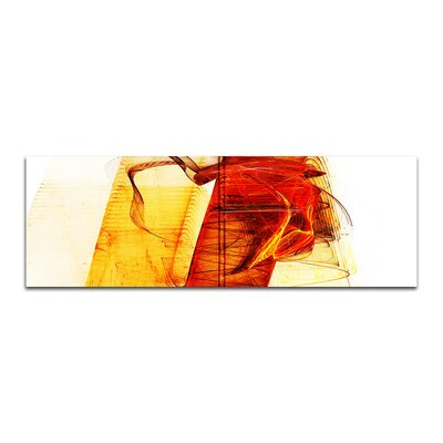 PaulSinusArt Enigma Panorama Abstrakt 077 Painting Print on Canvas