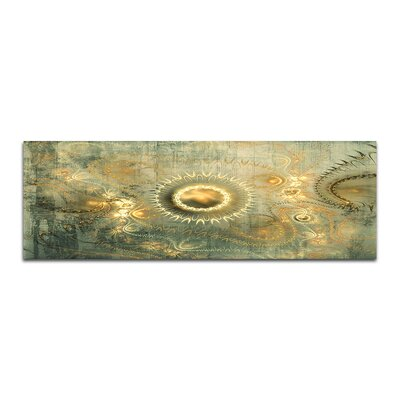 PaulSinusArt Enigma Panorama Abstrakt 353 Painting Print on Canvas