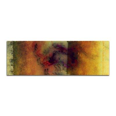 PaulSinusArt Enigma Panorama Abstrakt 184 Painting Print on Canvas