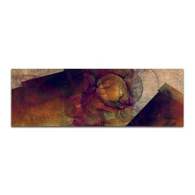 PaulSinusArt Enigma Panorama Abstrakt 185 Painting Print on Canvas