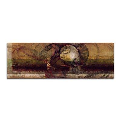 PaulSinusArt Enigma Panorama Abstrakt 186 Painting Print on Canvas