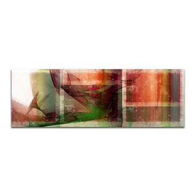 PaulSinusArt Enigma Panorama Abstrakt 187 Painting Print on Canvas