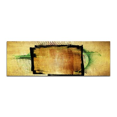 PaulSinusArt Enigma Panorama Abstrakt 381 Painting Print on Canvas