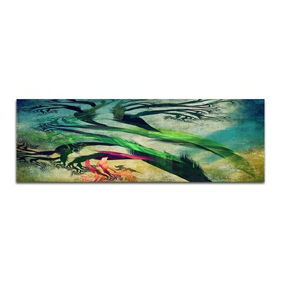 PaulSinusArt Enigma Panorama Abstrakt 081 Painting Print on Canvas