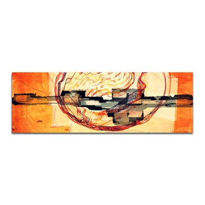 PaulSinusArt Enigma Panorama Abstrakt 251 Painting Print on Canvas