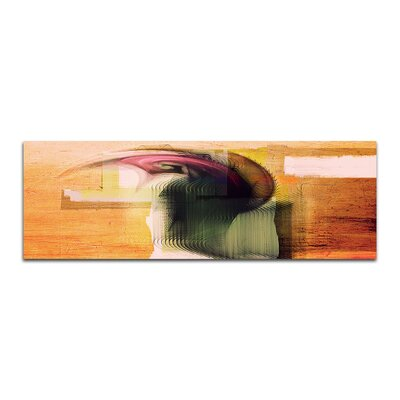 PaulSinusArt Enigma Panorama Abstrakt 085 Painting Print on Canvas
