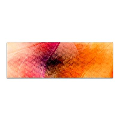 PaulSinusArt Enigma Panorama Abstrakt 255 Painting Print on Canvas