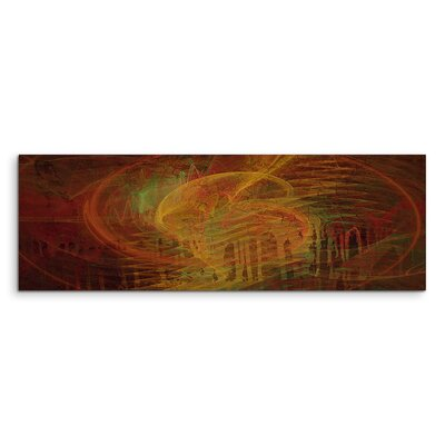 PaulSinusArt Enigma Panorama Abstrakt 1050 Painting Print on Canvas