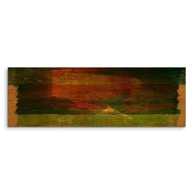 PaulSinusArt Enigma Panorama Abstrakt 1057 Painting Print on Canvas