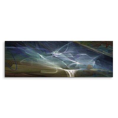 PaulSinusArt Enigma Panorama Abstrakt 1058 Painting Print on Canvas
