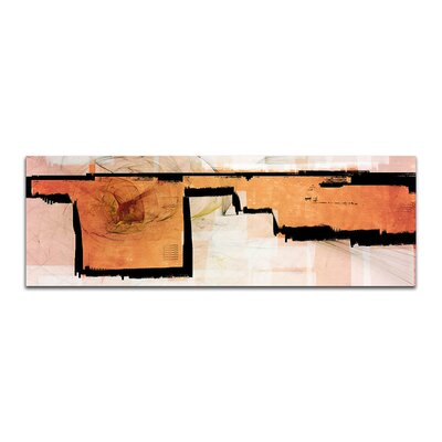 PaulSinusArt Enigma Panorama Abstrakt 386 Painting Print on Canvas