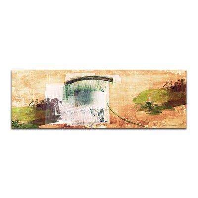 PaulSinusArt Enigma Panorama Abstrakt 388 Painting Print on Canvas