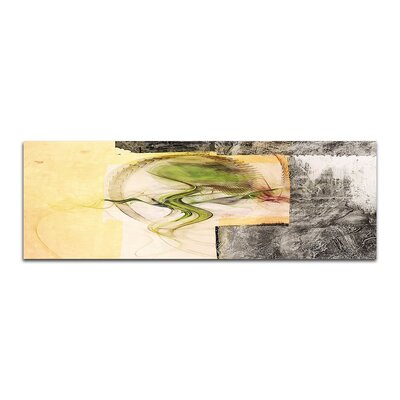 PaulSinusArt Enigma Panorama Abstrakt 390 Painting Print on Canvas