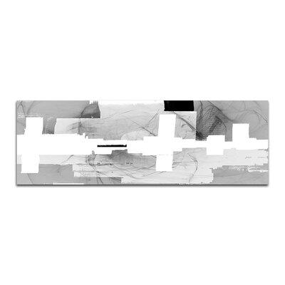 PaulSinusArt Enigma Panorama Abstrakt 089 Painting Print on Canvas