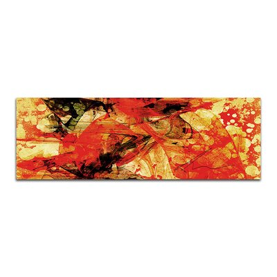 PaulSinusArt Enigma Panorama Abstrakt 289 Painting Print on Canvas