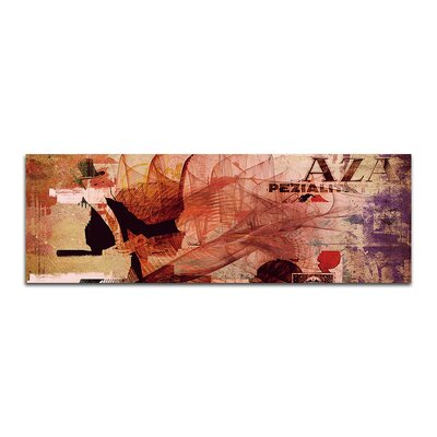 PaulSinusArt Enigma Panorama Abstrakt 259 Painting Print on Canvas