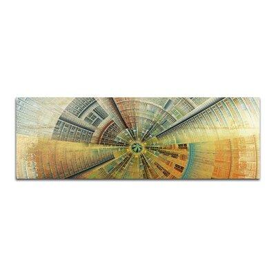PaulSinusArt Enigma Panorama Abstrakt 429 Painting Print on Canvas