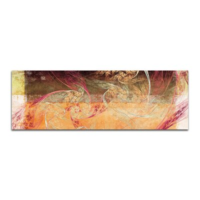 PaulSinusArt Enigma Panorama Abstrakt 431 Painting Print on Canvas