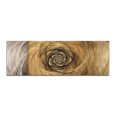 PaulSinusArt Enigma Panorama Abstrakt 434 Painting Print on Canvas