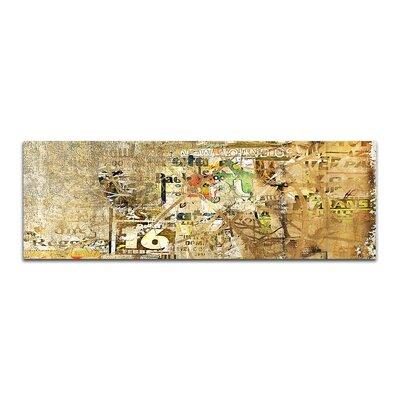 PaulSinusArt Enigma Panorama Abstrakt 436 Painting Print on Canvas