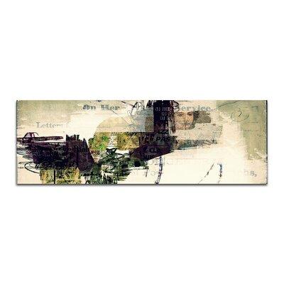 PaulSinusArt Enigma Panorama Abstrakt 395 Painting Print on Canvas