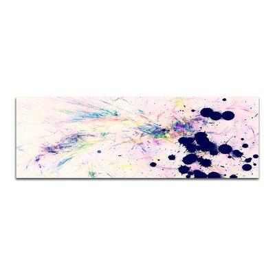 PaulSinusArt Enigma Panorama Abstrakt 396 Painting Print on Canvas