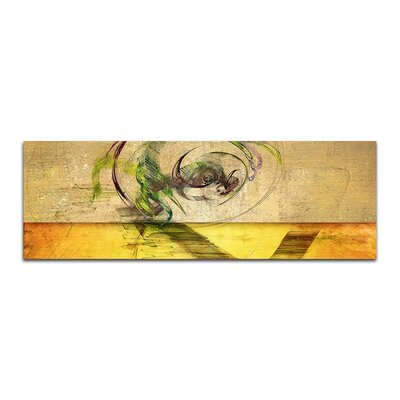 PaulSinusArt Enigma Panorama Abstrakt 398 Painting Print on Canvas