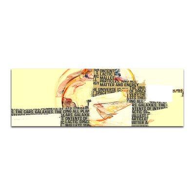 PaulSinusArt Enigma Panorama Abstrakt 291 Painting Print on Canvas