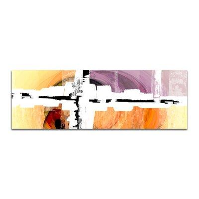 PaulSinusArt Enigma Panorama Abstrakt 292 Painting Print on Canvas