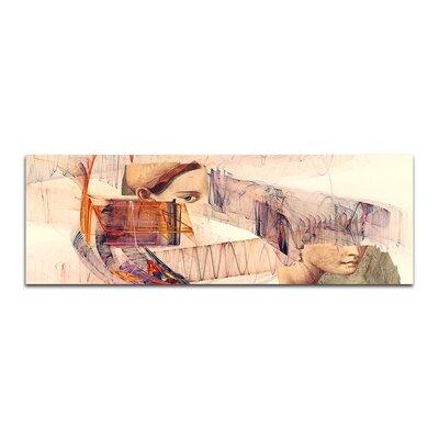 PaulSinusArt Enigma Panorama Abstrakt 294 Painting Print on Canvas