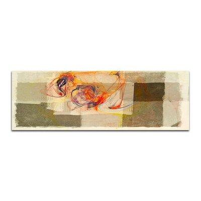 PaulSinusArt Enigma Panorama Abstrakt 296 Painting Print on Canvas